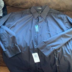 NWT  Arrow dark gray long sleeve shirt